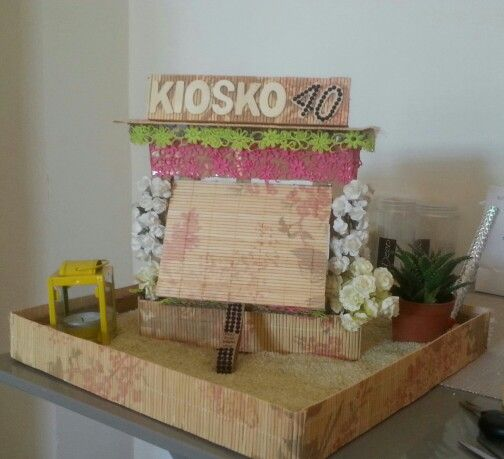 Present surprise box handmade