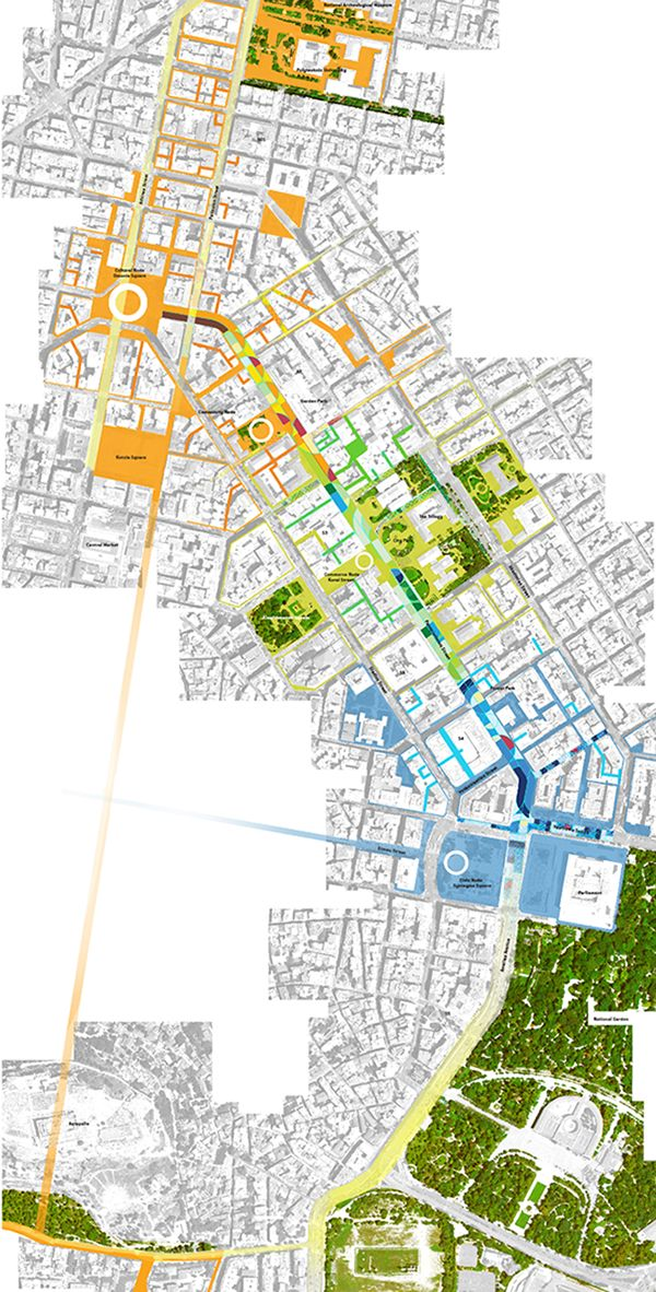 Athens siteplan