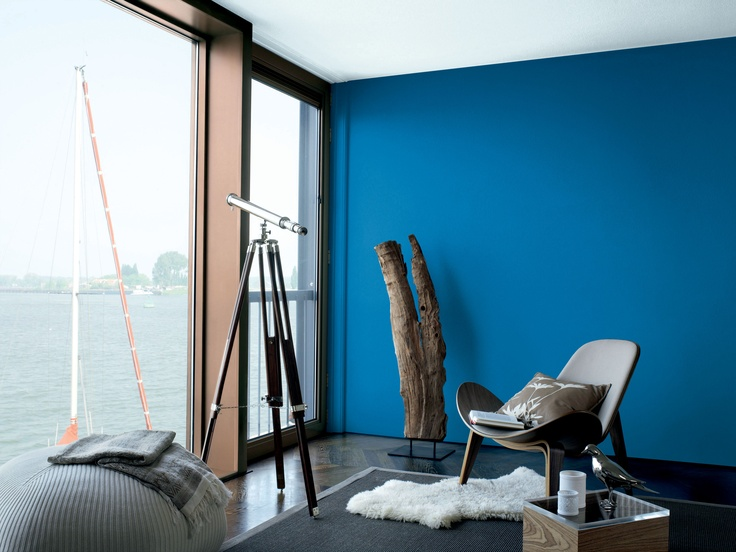 21 best paints feature wall images on pinterest blue walls home ideas and living room for Feature wall colours for living room