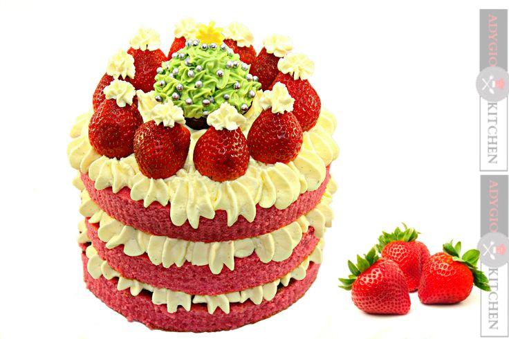 Reteta Tort Santa - Santa Cake -Adygio Kitchen #xmas #adygio