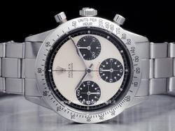 Rolex Cosmograph Daytona Paul Newman - Ref. 6262 - Quadrante Paul Newman bianco e contatori neri - Cassa in acciaio 36mm - Vetro plexiglass-tropic (vetro plastica) 25-21 - Cassa a vite in tre corpi - Bracciale Oyster in acciaio