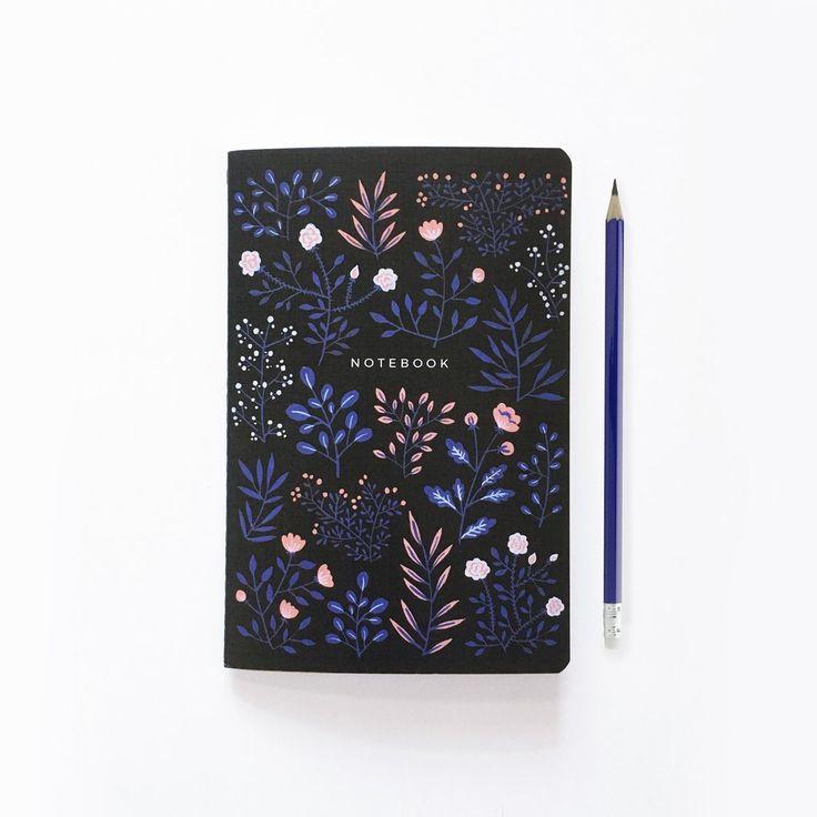 Moon Flowers - Bullet Journal