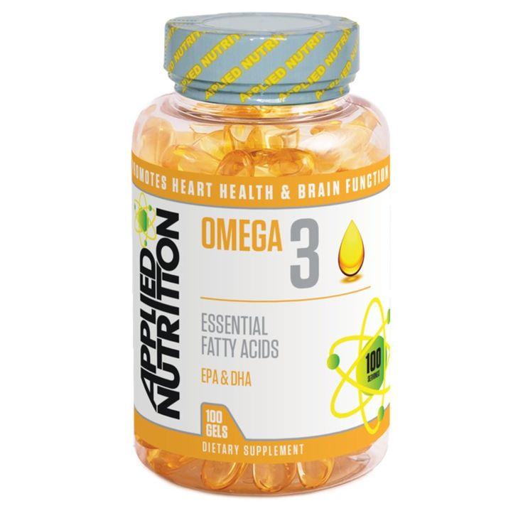 Applied Nutrition Omega 3 1000mg (100 Softgels)