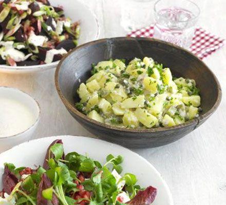 Classic potato salad - Quick and easy.