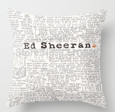 >> Click to Buy << Freeshipping ed sheeran. (two sides) Custom Throw Pillow Cases for 12x12 14x14 16x16 18x18  20x20 24x24 inch #Affiliate