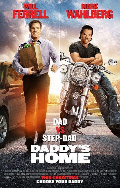 'Pai em Dose Dupla' (Daddy's Home), na trama, o executivo de uma rádio (Will Ferrell)..