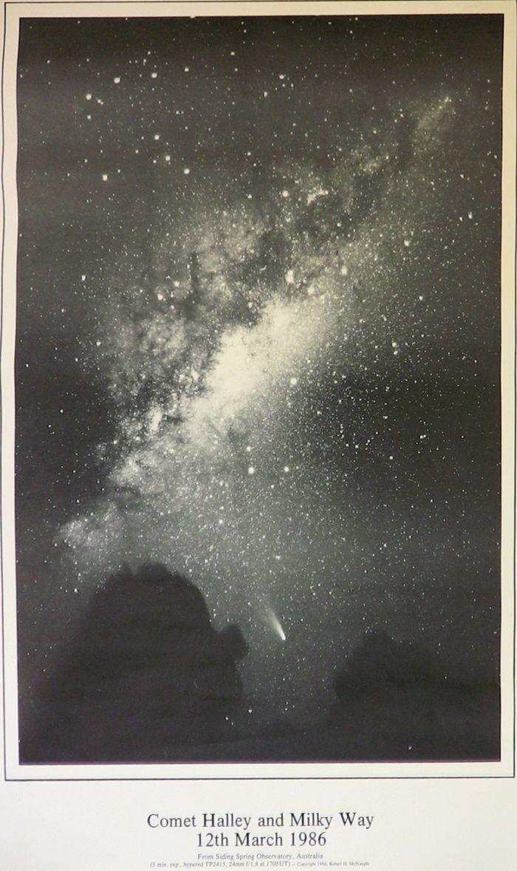Cometa Halley en 1986