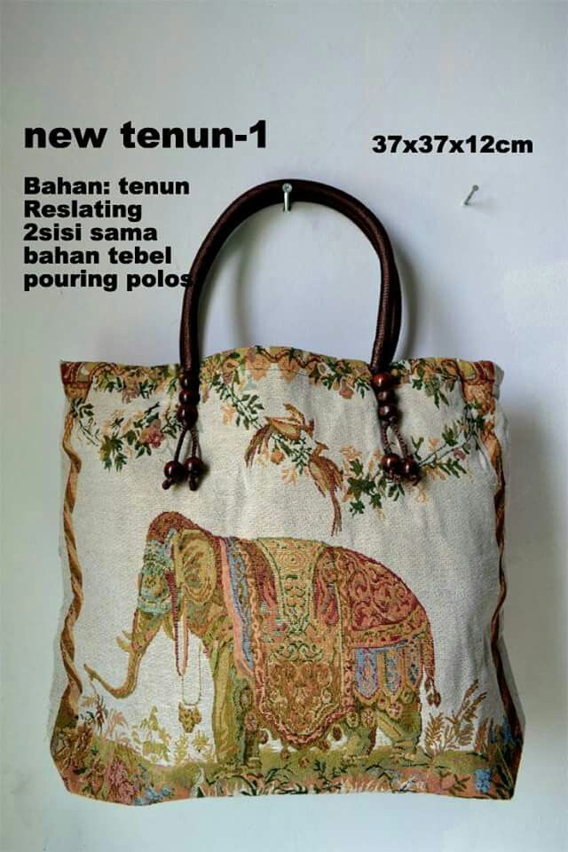Tenun bag elephant $25 usd