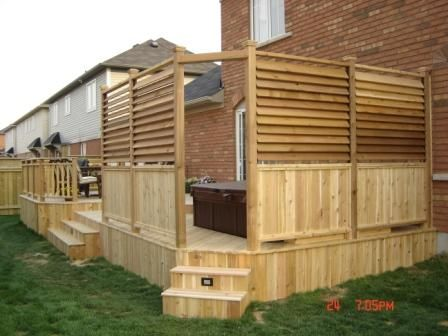 Anybody Use This Louver System - Decks & Fencing - Contractor Talk