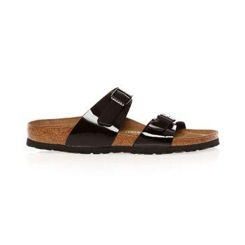 Sandales Sydney noir verni - Birkenstock