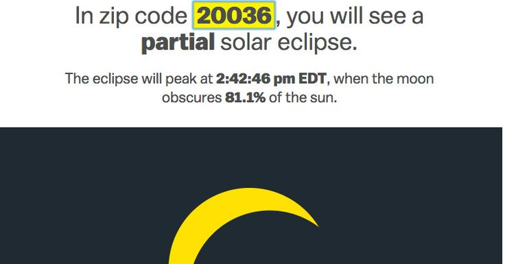 A solar eclipse is coming to America. Here's what you'll see where you live.
