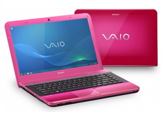 Sony Pink Mini Notebook with 10.1-inch wide-screen LED backlit display. Compact & light perfect for on the go use