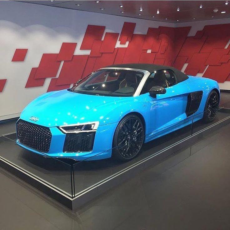 Audi I8 in my favorite color!