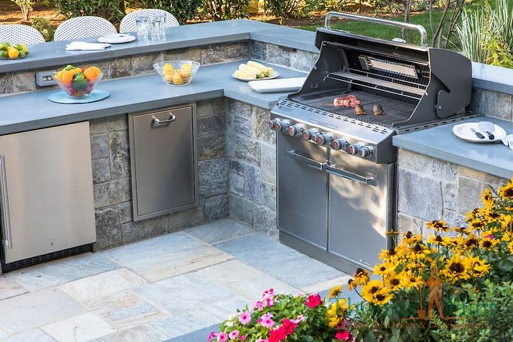 8 best outdoor kitchens images on pinterest outdoor for Outdoor kitchen cost estimator