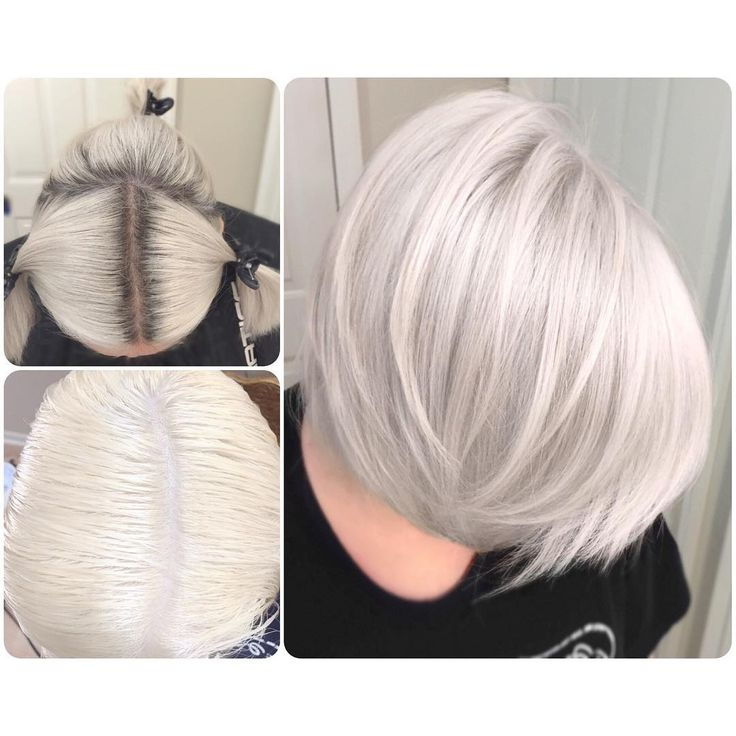 Just another #iceblonde retouch!! Formula - Redken Flash Lift + 30 volume. Processed for 30ish minutes Toned with Redken 09t + clear + processing solution (all equal parts) for about a few min! @modernsalon #modernsalon @behindthechair_com #btcpics