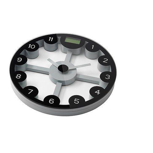 ANTEN Personenwaage IKEA Anpassbares Gewichtssystem: Kilogramm, Pounds und Stones. Doppelfunktion: Personenwaage und Uhr.