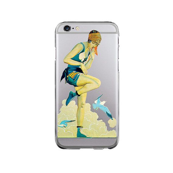 10.90 USD Clear iPhone SE case sea iPhone 6 Plus classic art by ModMacCase