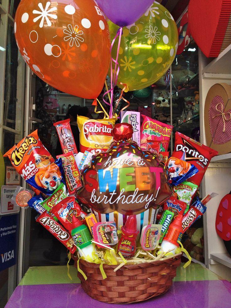 Es su #cumple?  un #dulce #regalo con #amor www.regalosamer.com.mx