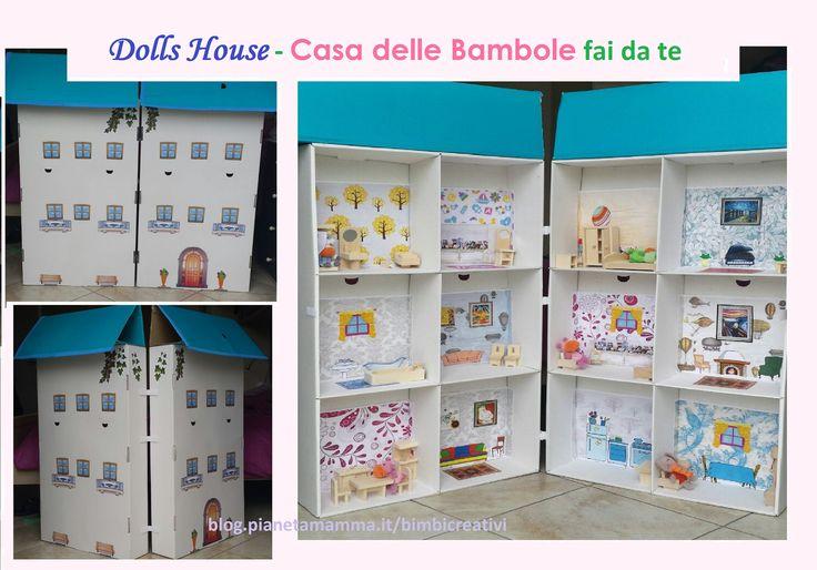 Casa delle bambole fai da te - How to create a Dolls House