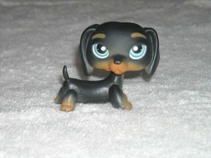 Littlest Pet Shop Dog #325 Dachshund - VERY RARE