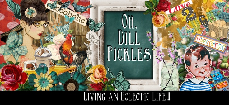 Oh, Dill Pickles!!! - imágenes vintage
