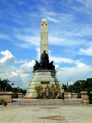 Luneta Park or Rizal Park in Manila.