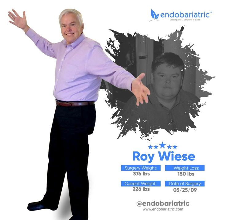 With a weight loss of 150 lbs. Our #StarSleever of this week is Roy Weise. Congratulations!