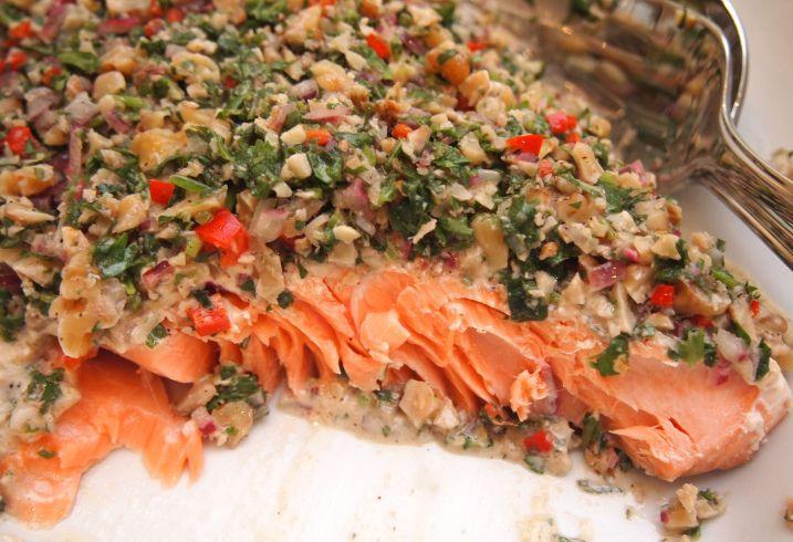 Greg Malouf's Salmon Tarator
