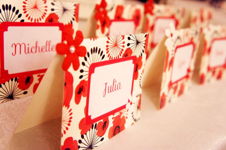 Hens night Place Cards