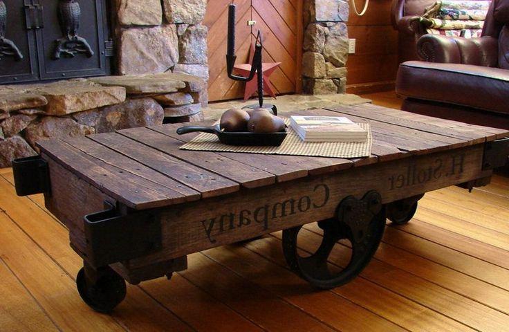 diy upcycled coffee table ideas