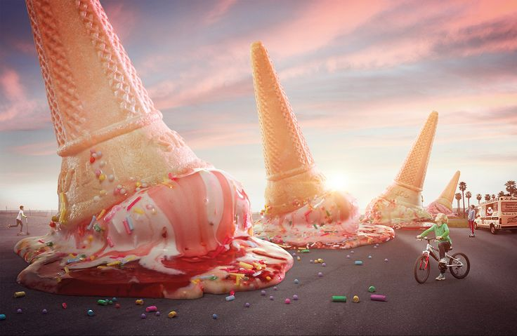 The Ice Cream Has Landed on Behance