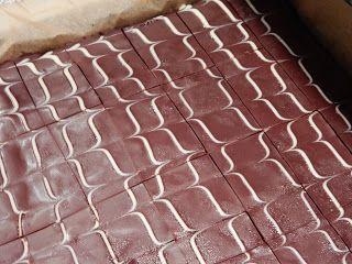 The lazy bakery: Chocolade plaatcake