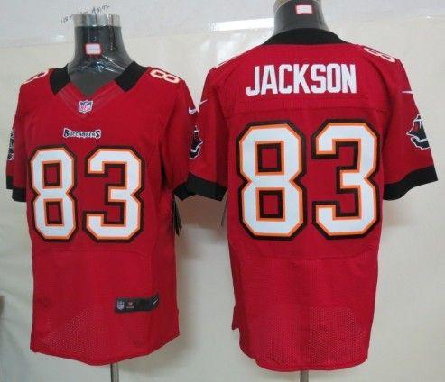 Men's NFL Tampa Bay Buccaneers #83 Jackson Red Elite Jersey