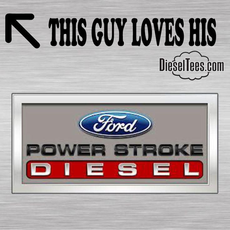 DieselTees POWER STROKE GUY This Guy Girl Loves His Cummins