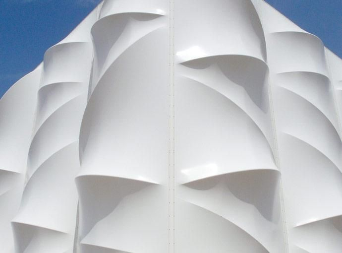 Tensile fabric structure - The London 2012 Games Basketball Arena