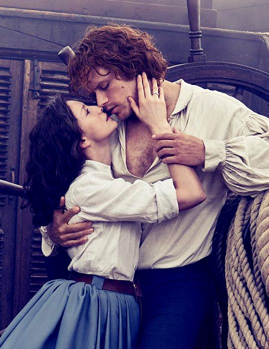 Caitriona Balfe and Sam Heughan for Entertainment Weekly Cover Shoot 2017