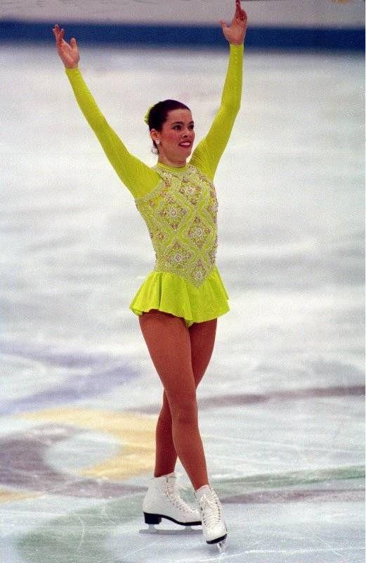 1992 Winter Olympics | Nancy Kerrigan - 1992 Albertville Winter Olympics - Ladies Figure ...