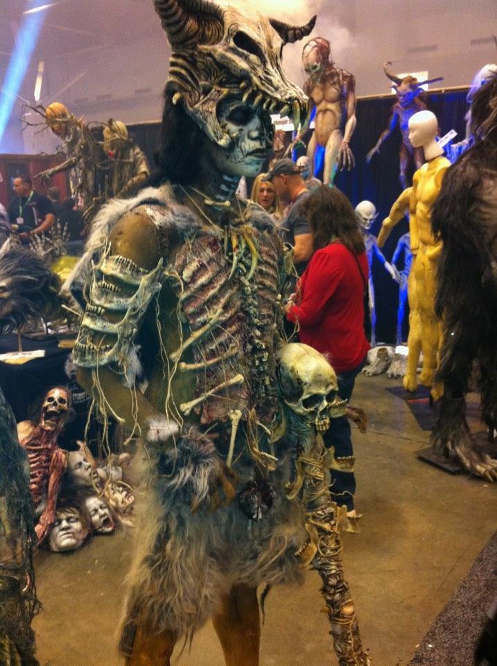 Tribal Costume. Transworld Halloween & Haunt Show 2012.