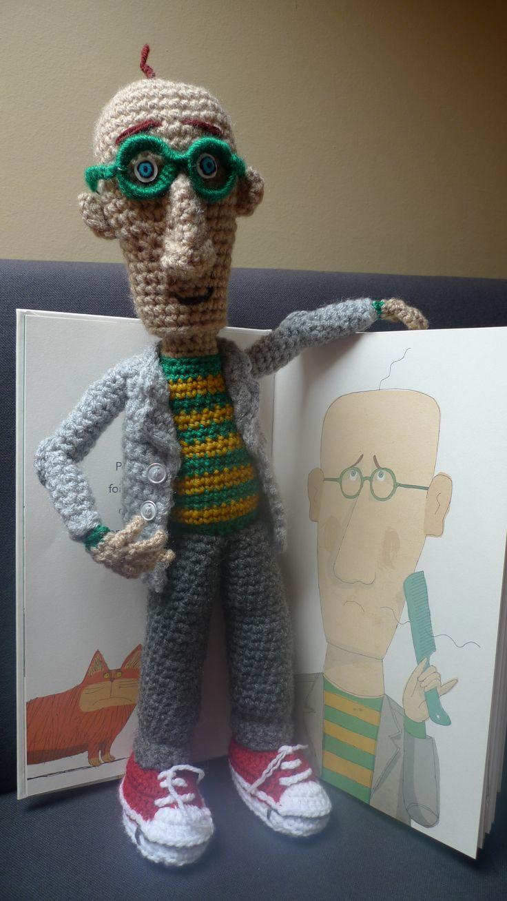 Amigurumi crochet. Nicomedes