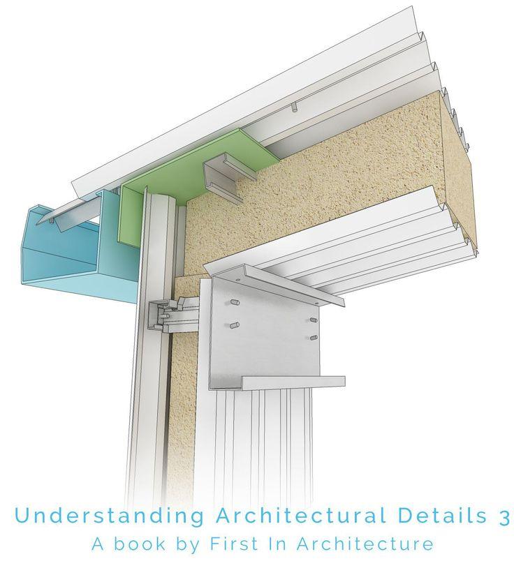 Portal frame roof detail