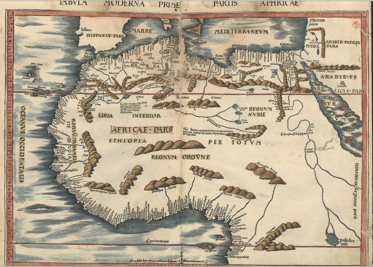 "C.A. 152 V. - 0247 - Ptolomeu (ca 90-ca168) – ""Claudii Ptolemaei viri Alexandrini Mathematicae…"".   Argentinen : Joannis Schotti, 1513.  BNP C.A. 152 V."