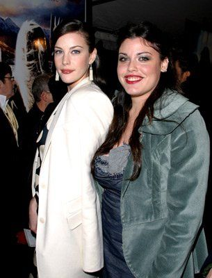 Liv Tyler and Mia Tyler daughters of Steven Tyler