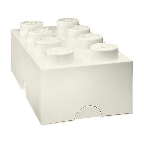 Buy LEGO 8 Stud Storage Brick Online at johnlewis.com