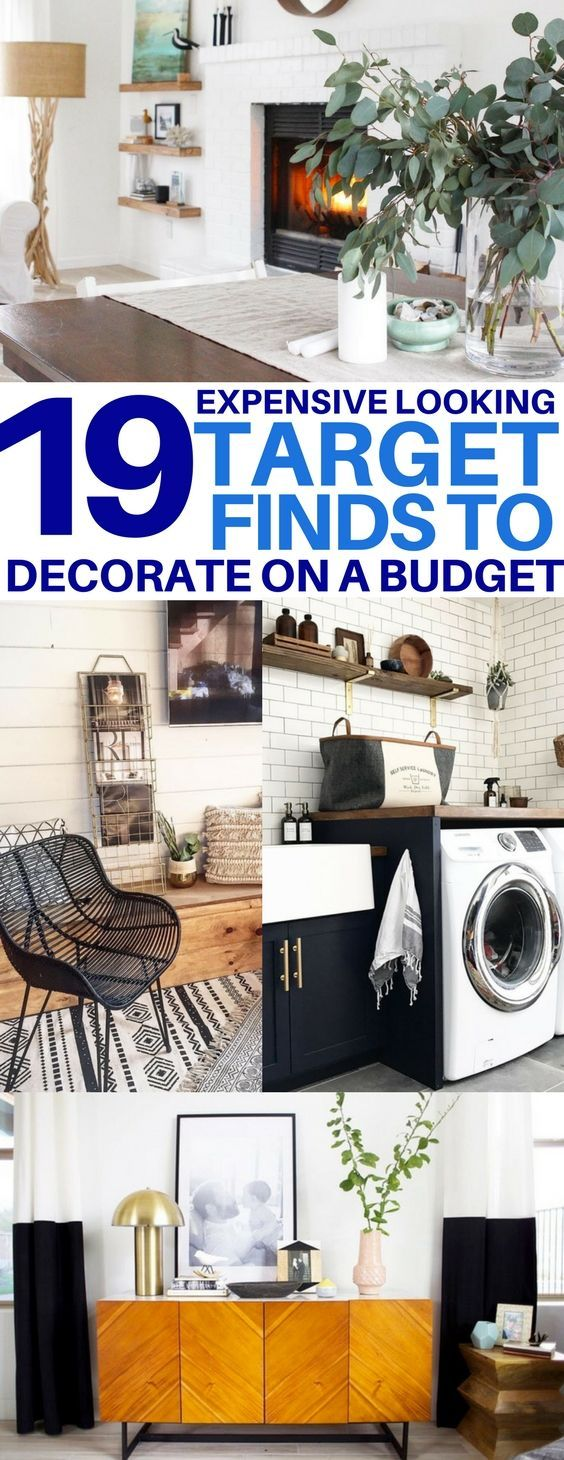 19 Expensive Looking Target Finds To Decorate Your Home On A Budget Budget Living Roomsliving