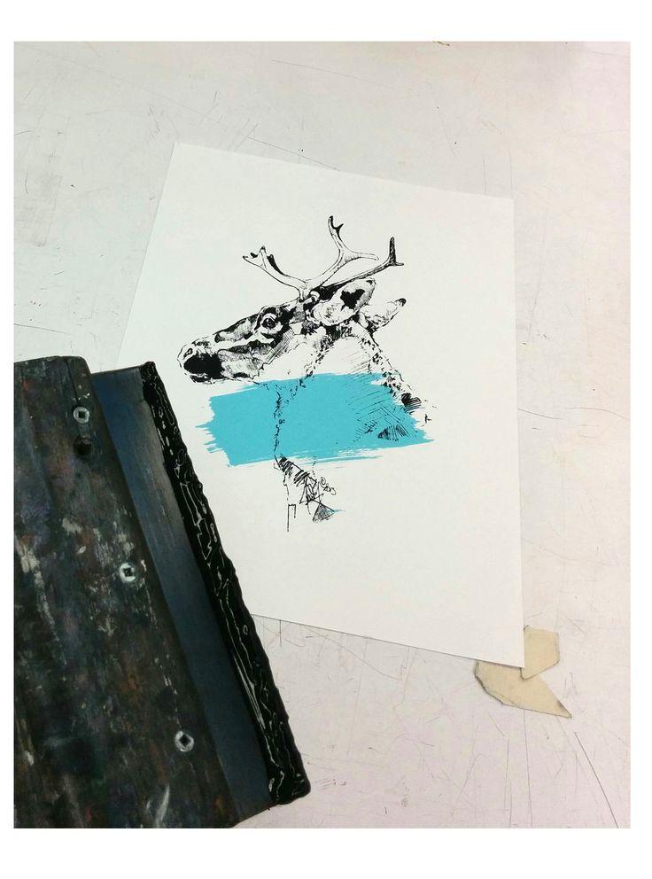 ScreenPrint Workshop. Many new things on the way. Marie-Eve Arpin - Art on Facebook. https://www.facebook.com/MarieEveArpinArt/?ref=hl