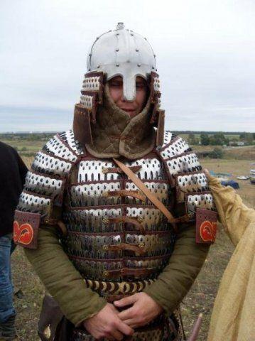 Golden Horde warrior's armor