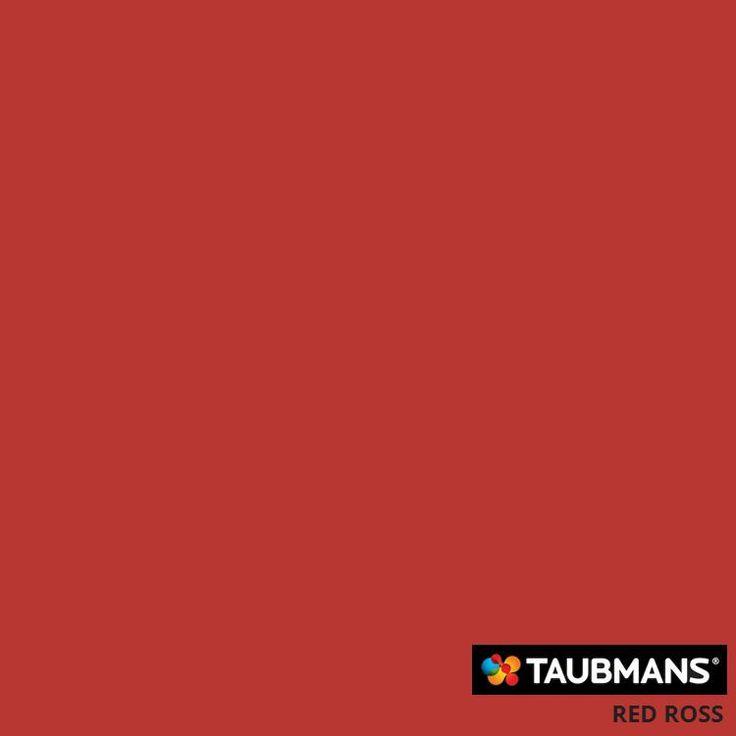 #Taubmanscolour #redross