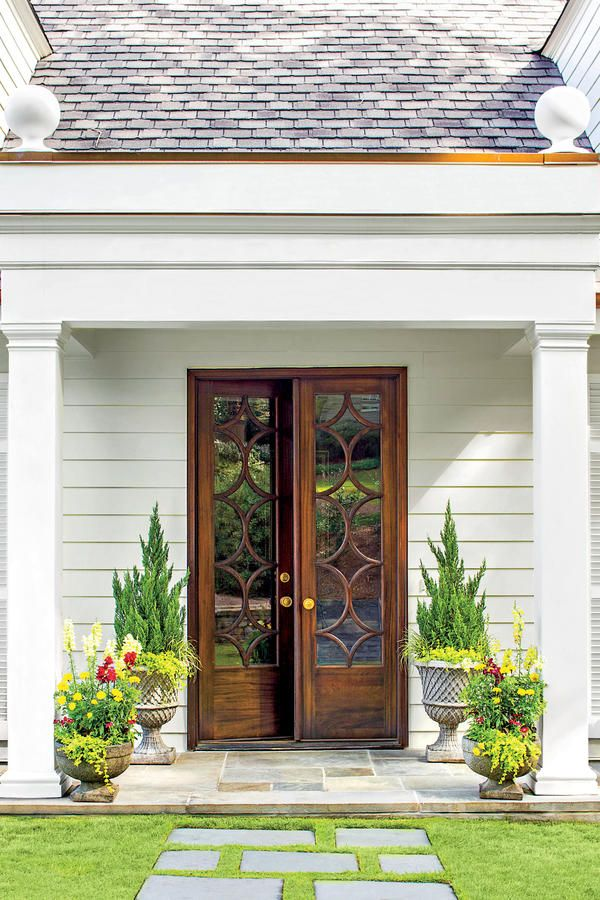 25 best ideas about exterior french doors on pinterest for French main door designs