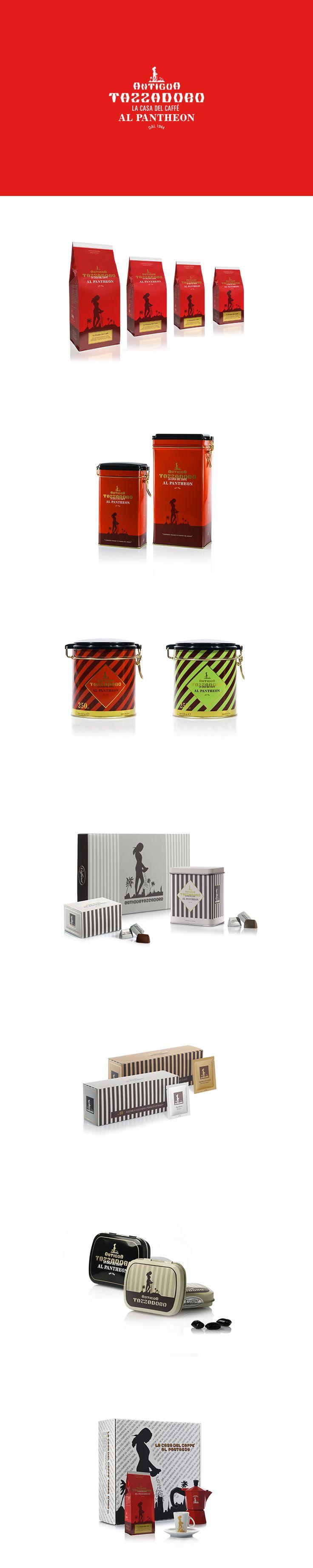 Antigua Tazza D'oro, Packaging Design ─ Giulio Patrizi Design Agency ©   #packaging #coffee #design