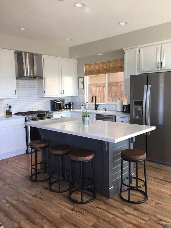 Make your own kitchen island! #kitchendesignideas Dream Kitchen